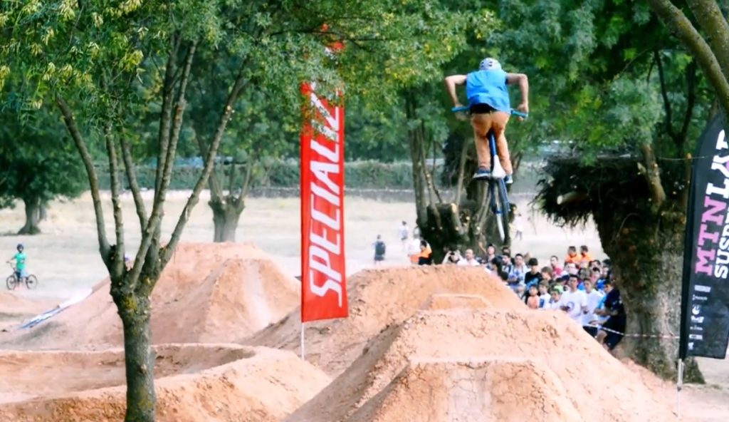 Bikeparks de tierra en Guadalix de la Sierra Madrid por NV Sports