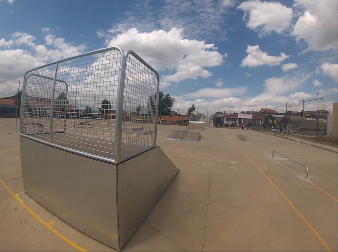 Bikeparks modulares por NV Sports